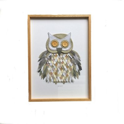 Framed Artwork Ollie Owl