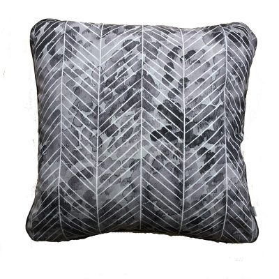 Ink Herringbone Cushion
